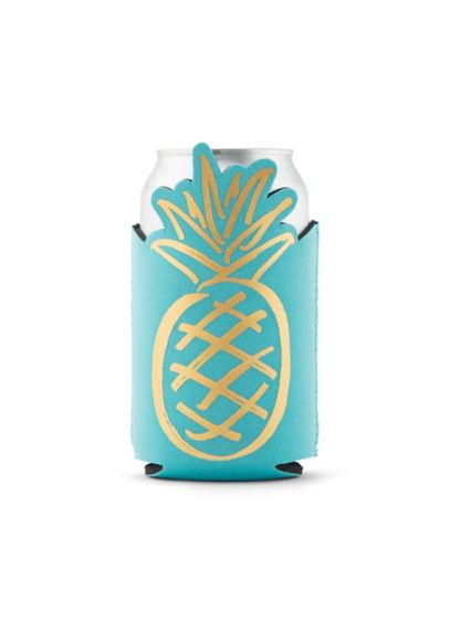 Aloha Beaches Pineapple Neoprene Drink Sleeve - Party time! Keep your drink cold and your
