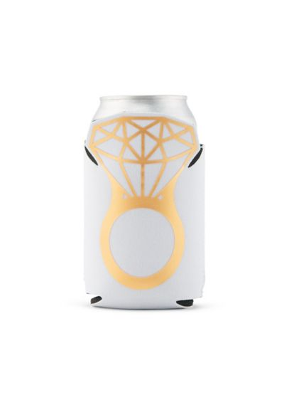 Neoprene Foam Engagement Beer Can Party Koozie - She said yes to these awesome custom drink