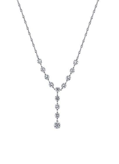 Swarovski Crystal Y-Necklace - Wedding Accessories