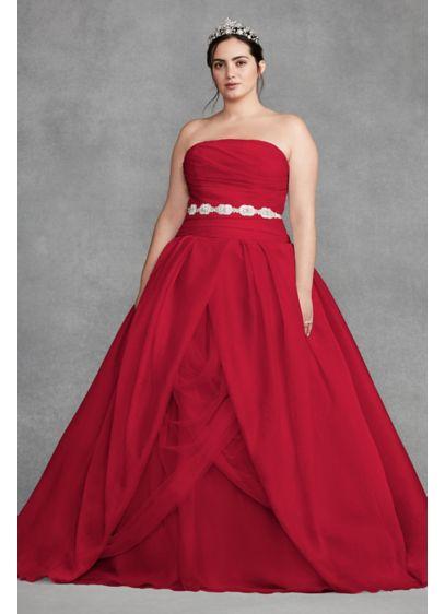 Long Ballgown Boho Wedding Dress -
