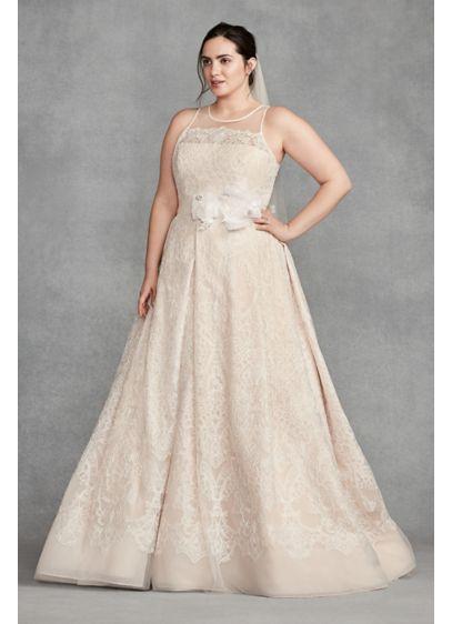 Long A-Line Modern Chic Wedding Dress - White by Vera Wang
