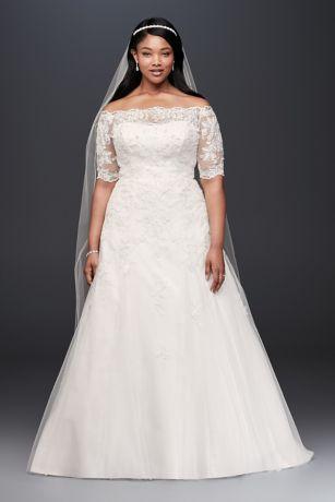 Plussize Wedding Dress