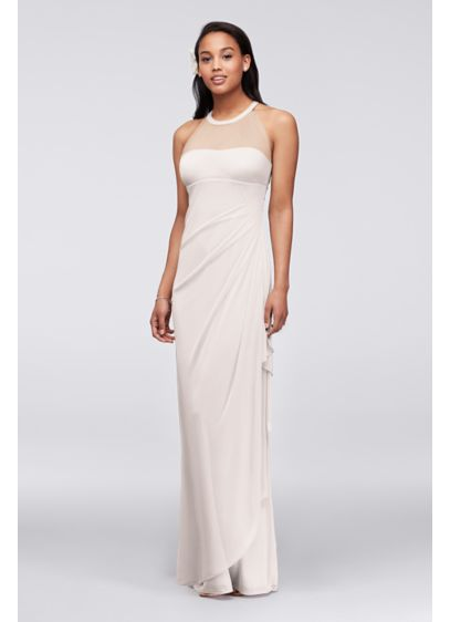 51f78ef7b2 Extra Length Cascading Side Ruffle Dress | David's Bridal