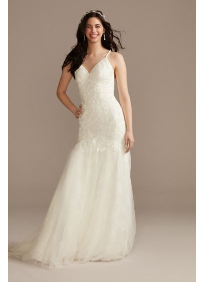 Long Mermaid / Trumpet Country Wedding Dress - Melissa Sweet