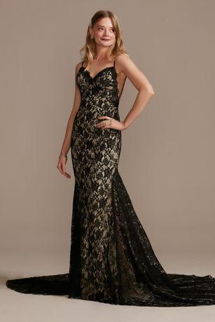 Long Sheath Wedding Dress - Galina