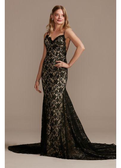 Long Sheath Boho Wedding Dress - Galina