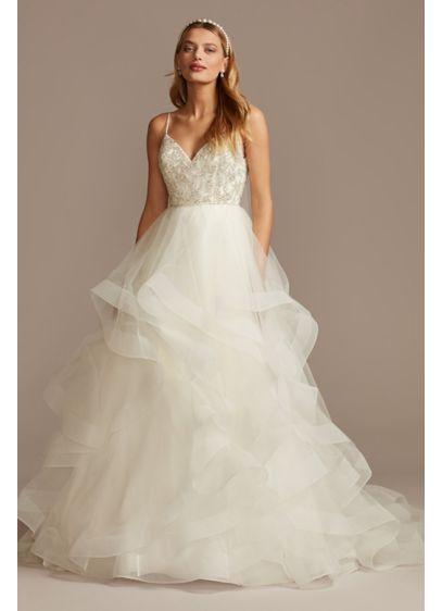 Long Ballgown Formal Wedding Dress - David's Bridal