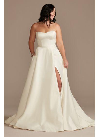 Long Ballgown Formal Wedding Dress - DB Studio