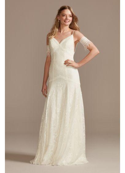 Long Mermaid / Trumpet Beach Wedding Dress - DB Studio