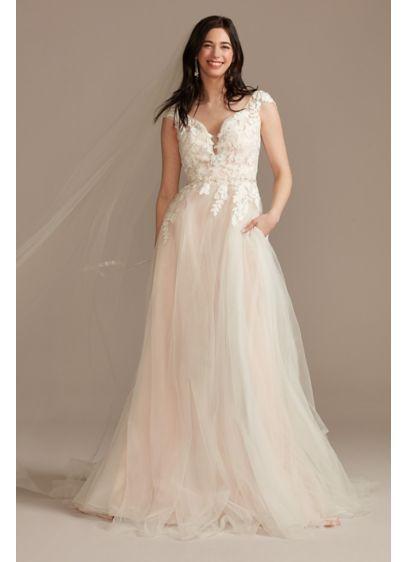 Long Ballgown Country Wedding Dress - DB Studio