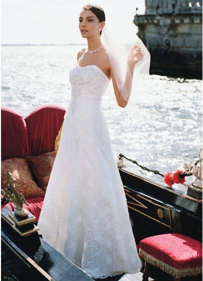 Long A-Line Formal Wedding Dress -