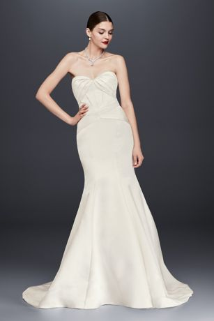 Long Mermaid/ Trumpet Wedding Dress   Truly Zac Posen