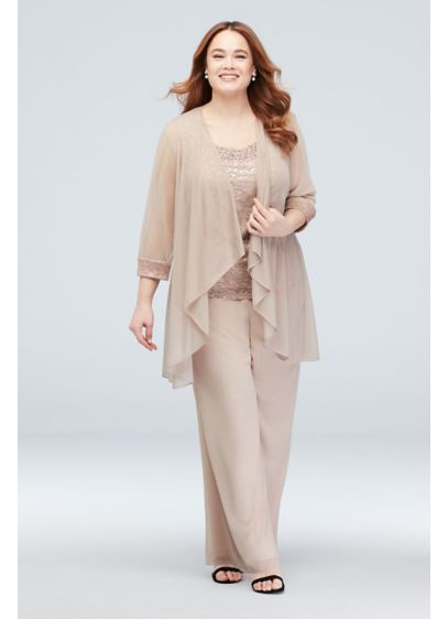 Long Jumpsuit Jacket Formal Dresses Dress - RM Richards