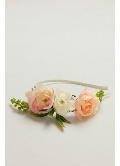 David's Bridal Pink (Flower Headband)