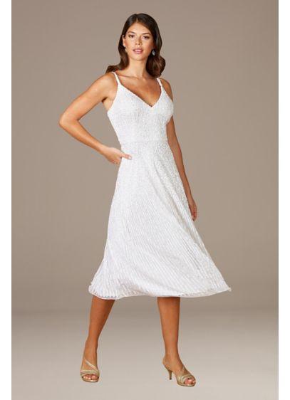 Lara Gemma Beaded Tank Midi Dress - You're sure to be the life of the