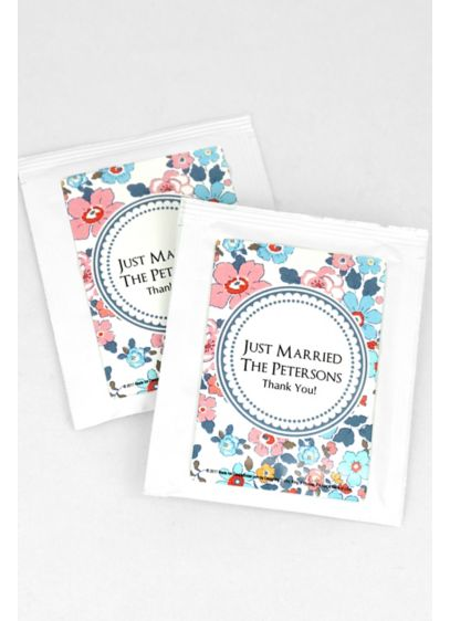 Personalized Floral Pattern Wedding Tea - Personalized Tea wedding favors bring a dramatically different