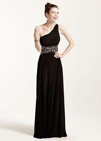 Black Long Formal Dresses David's Bridal