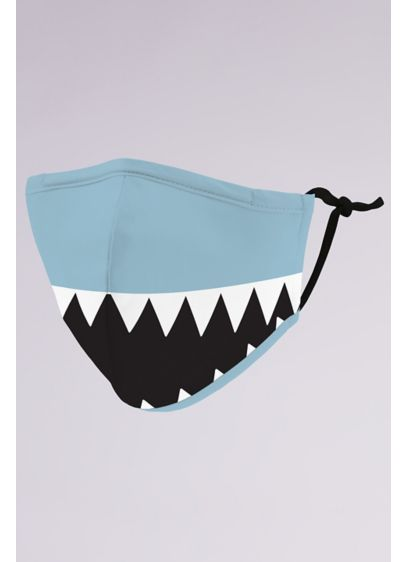 Shark Tooth Kids Mask with Adjustable Ear Loops - Wedding Accessories