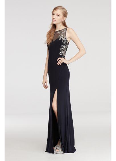 Long Sheath Tank Formal Dresses Dress - Blondie Nites