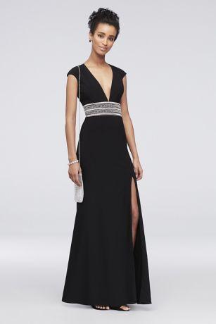 Black Long Mermaid Dress