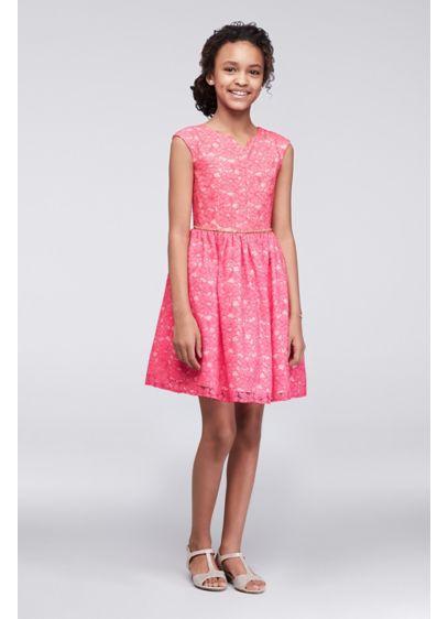 Short Pink Soft & Flowy Marmellata Bridesmaid Dress