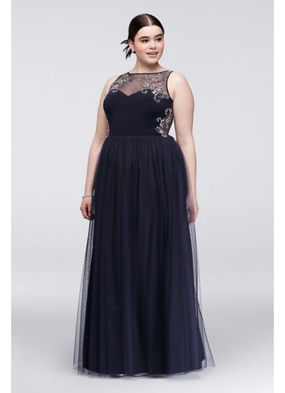 Long Ballgown Tank Cocktail and Party Dress - Blondie Nites