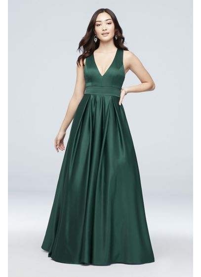 Long Ballgown Tank Formal Dresses Dress - City Triangles