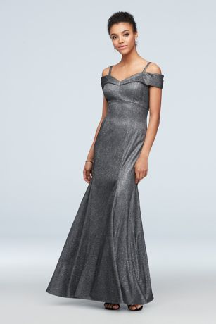 Long Mermaid/Trumpet Off the Shoulder Dress - RM Richards