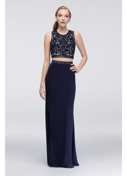 Long Sheath Tank Cocktail and Party Dress -
