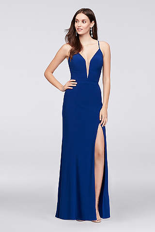 Blue Prom Dresses: Short & Long Lengths | David\'s Bridal