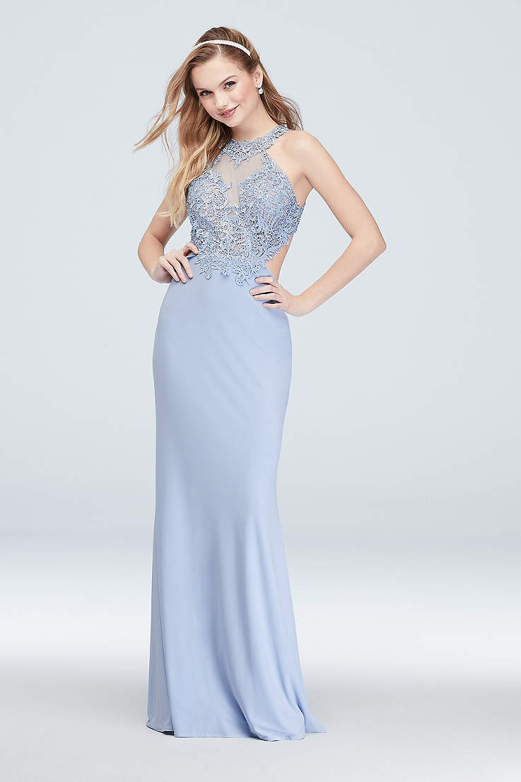 9a3d574c07b7 Blue Prom Dresses: Short & Long Lengths | David's Bridal