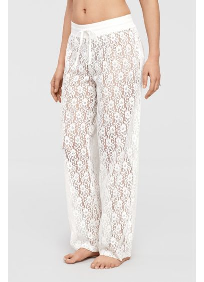 Lace Lounge Pants - Wedding Gifts & Decorations