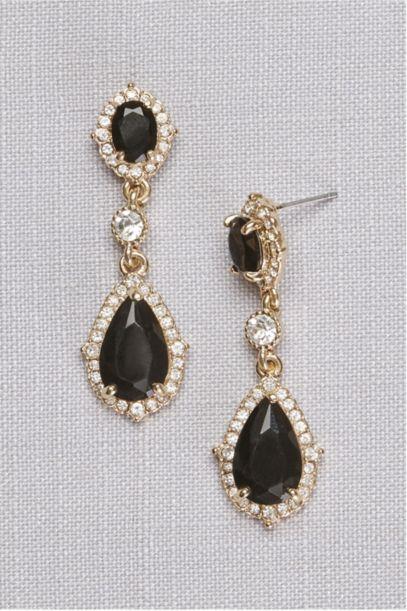 Filigree And Crystal Drop Earrings David S Bridal