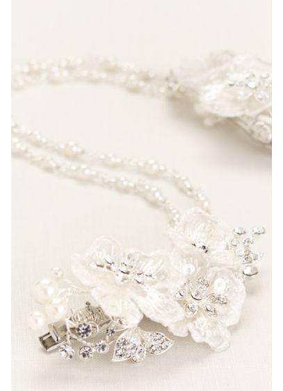 Fabric Flower Swag - Wedding Accessories