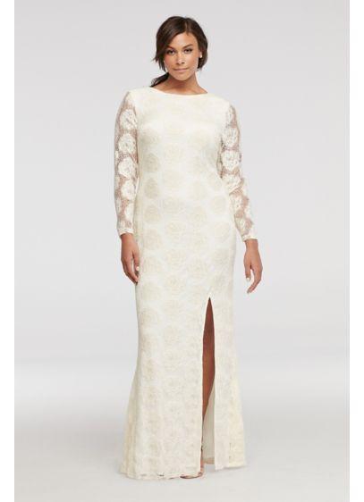 Long Sheath Long Sleeves Formal Dresses Dress - City Triangles