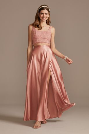 Long A-Line Tank Dress - Sequin Hearts