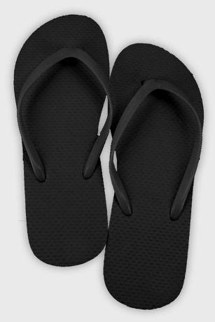 Black;White (Wedding Flip Flop Favors Set of 6)