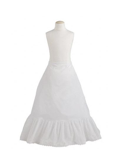 Flower Girl Medium Fullness A-Line Slip - Wedding Accessories