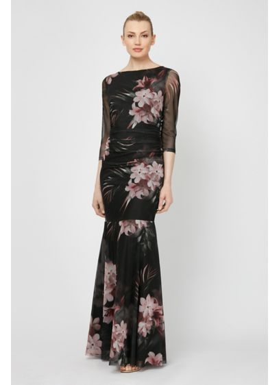 Long A-Line Long Sleeves Formal Dresses Dress - Ignite