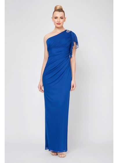 Long Sheath One Shoulder Formal Dresses Dress - Ignite