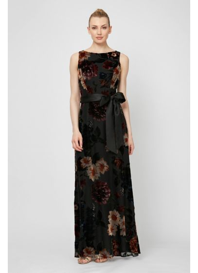 Long A-Line Capelet Formal Dresses Dress - Ignite