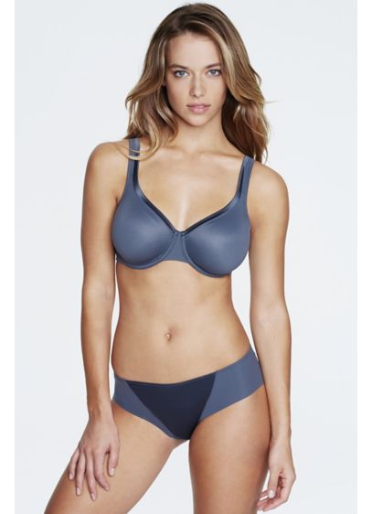 Dominique Anais Everyday Seamless Bra - With its cotton-lined cups and soft, wide straps,