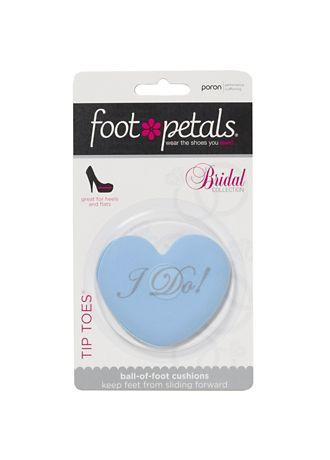 Footpetals Blue Shoe Accessories (Foot Petals I Do Tip Toes)