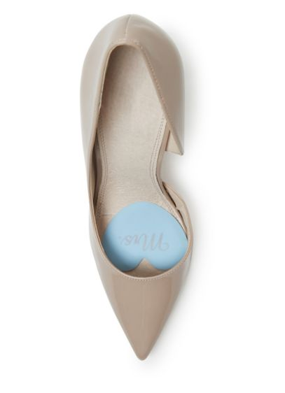 Foot Petals Bridal Mrs. Tip Toes - When it's time to go from Miss to