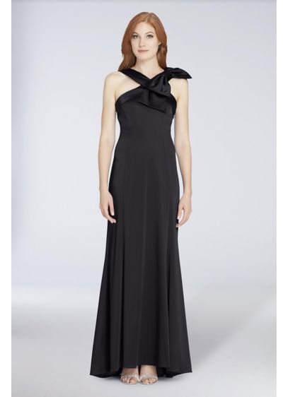 Long Sheath Wedding Dress - Tahari ASL