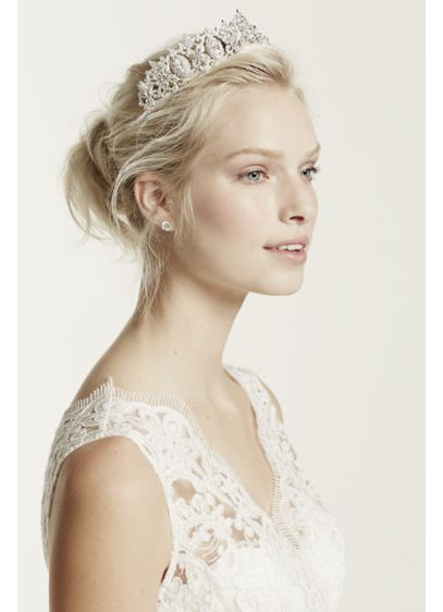 David's Bridal Grey (Regal Tiara)
