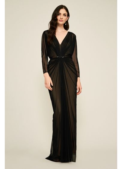 Monet Mesh Gown - Inspired by vintage Hollywood glamour, this starlet-worthy mesh