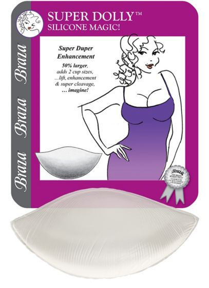 Braza Super Dolly Silicone Push-Up Pads - Wedding Accessories