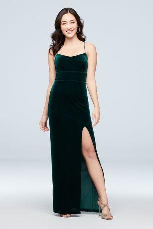 Satin Sheath Dress