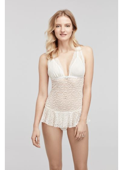 Betsey Johnson Lace Teddy - Wedding Accessories